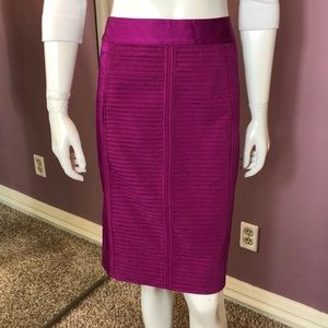 White House Black Market Tiered Skirt